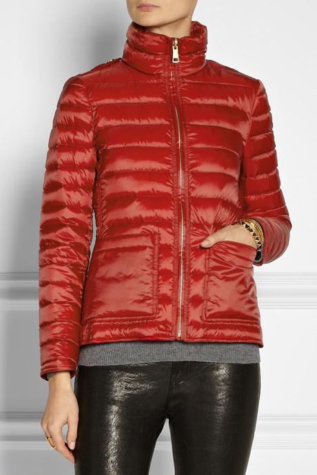 Burberry Convertible shell jacket