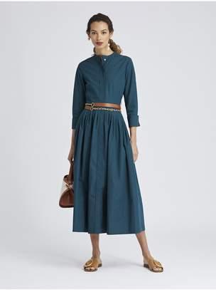 Oscar de la Renta Cotton-Poplin Dress