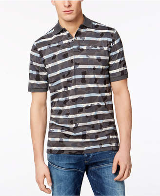G Star G-Star Men's Swando Camo-Stripe Polo, Created for Macy's