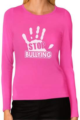 DAY Birger et Mikkelsen Tstars Stop Bullying - Shirt Anti-Bullying Women Long Sleeve T-Shirt
