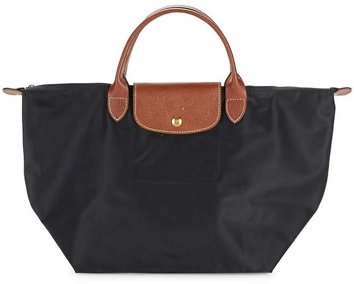 Longchamp Women's Le Pilage Tote - BLACK - STYLE