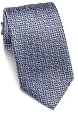 Hugo BossHUGO BOSS Square Patterned Silk Tie