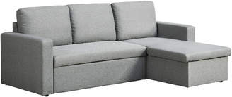 Webster Temple & Miera 3 Seater reversible chaise Sofa Bed