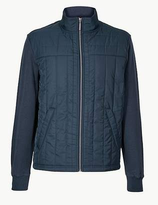Marks and Spencer Pure Cotton Fleece Jacket