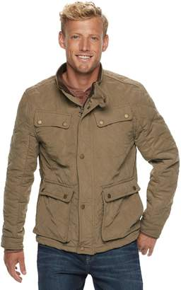 Urban Republic Men's Microfiber 4-Pocket Safari Jacket