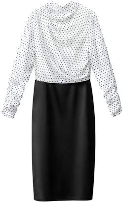 La Redoute COLLECTIONS 2 in 1 Polka Dot Print Dress
