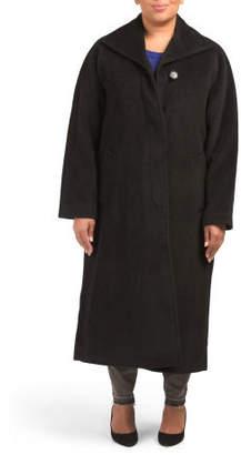 Plus Alpaca Long Coat