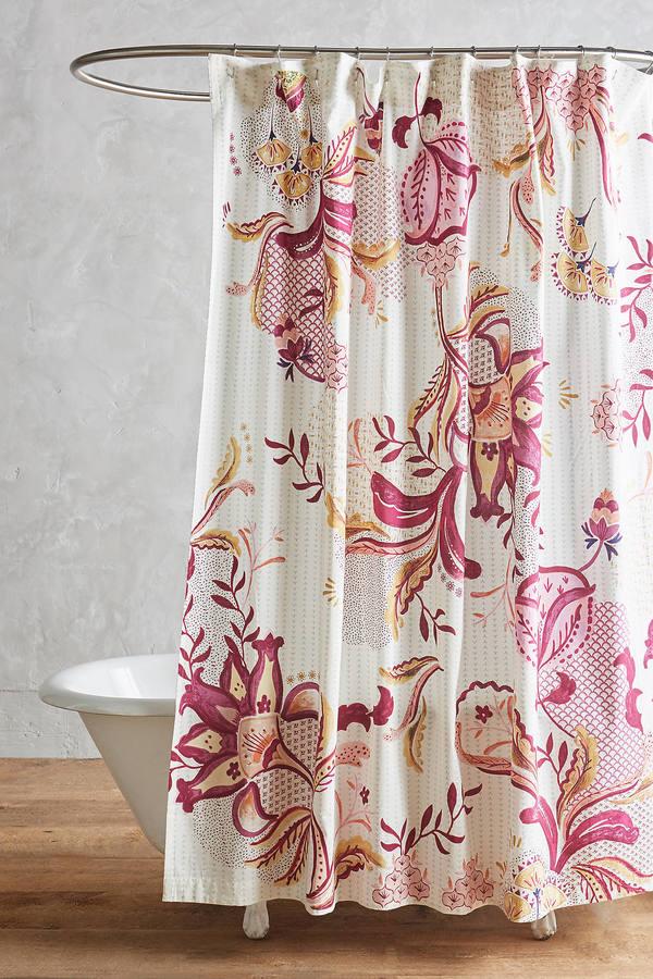 AnthropologieAnthropologie Rosaflora Shower Curtain