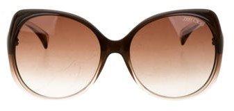 Jimmy ChooJimmy Choo Oversize Logo Sunglasses