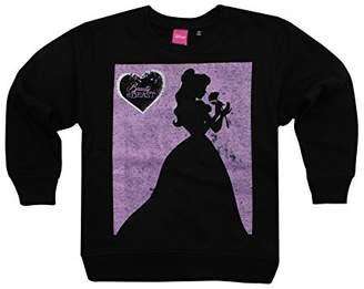 Disney Girl's Belle Silhouette Sweatshirt