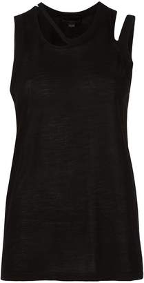 Alexander Wang cut-out detailed tank top