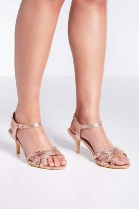 443f0632cfc Beige Low Heel Sandals For Women - ShopStyle UK