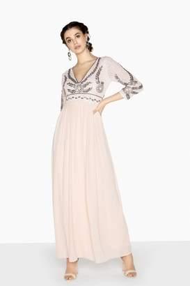 Little Mistress Aria Hand-Embellished Sequin Top Dress