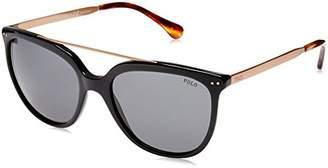 Polo Ralph Lauren Women's Plastic Woman Square Sunglasses
