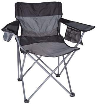 Stansport Apex Deluxe Oversize Arm Chair, Gray