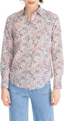J.Crew Slim Perfect Shirt in Liberty Shepherdly Song