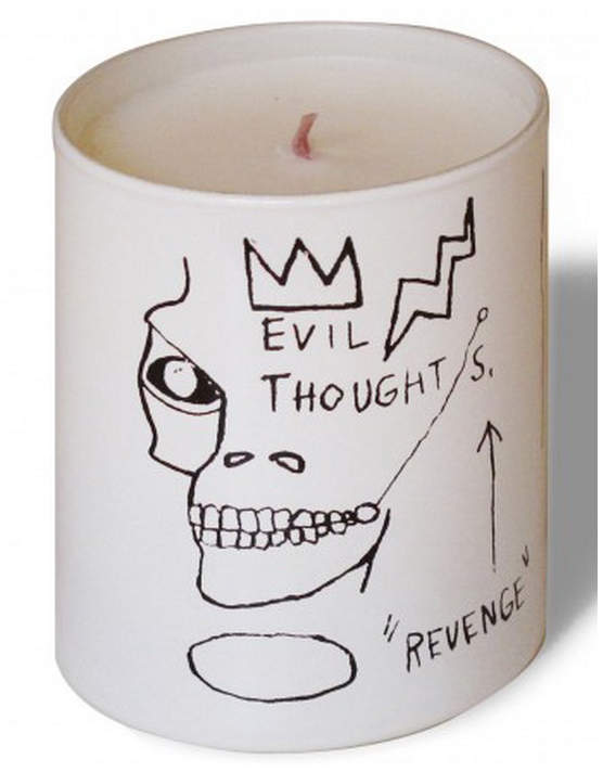 Thompson Ferrier Jean Michel Basquiat White Revenge Candle