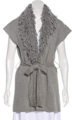 Twelfth Street By Cynthia Vincent Belted Knit Cardigan