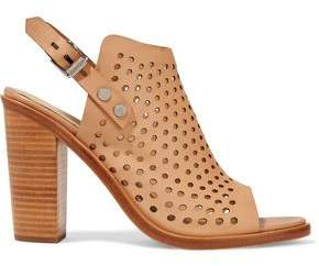 Rag & Bone Wyatt Laser-Cut Leather Sandals