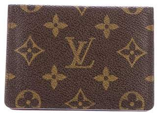 Louis Vuitton Monogram Porte 2 Cartes Vertical Card Holder