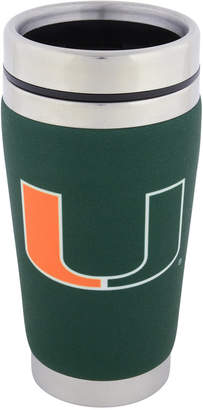 Hunter Manufacturing Miami Hurricanes 16 oz. Stainless Steel Travel Tumbler