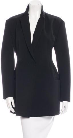 CelineCéline Darted Bodice Short Coat
