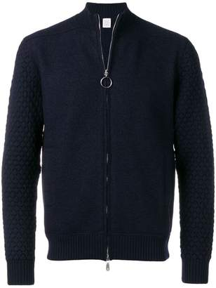 Eleventy zipped knit jacket