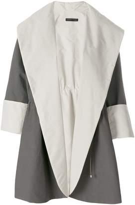 Fabiana Filippi oversized shawl collar jacket