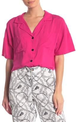 Love + Harmony Notch Collar Button Down Shirt
