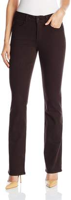 NYDJ Women's Marilyn Straight Leg Jeans in Colored Bull Denim