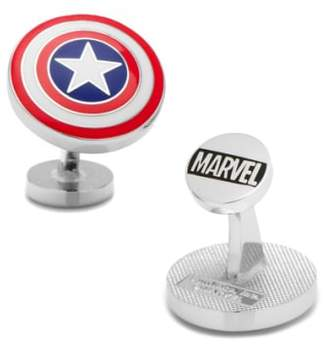 Cufflinks Inc. Cufflinks, Inc. 'Captain America Shield' Cuff Links