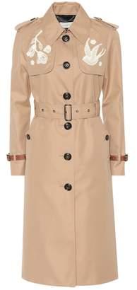 Coach Cotton-blend trench coat