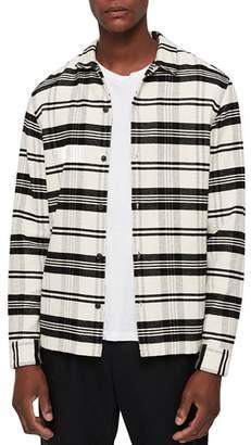 AllSaints Cervino Checked Shirt Jacket