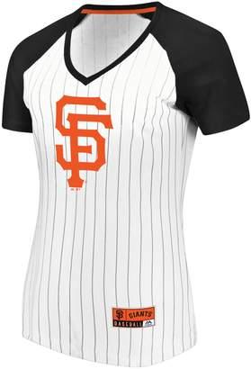 Majestic Women's San Francisco Giants Jersey Tee