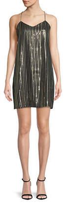 Cynthia Steffe Mia Sequin Slip Dress