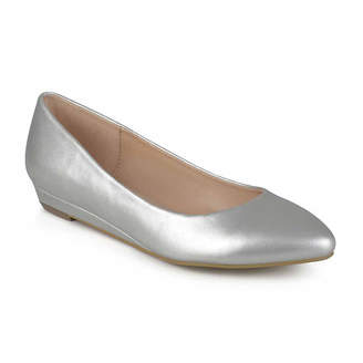 Journee Collection Womens Ballet Flats Round Toe