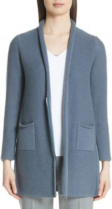 Fabiana Filippi Beaded Wool Blend Cardigan