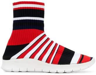 Maison Margiela striped socks sneakers