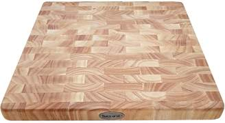 Baccarat Butchers Corner End Grain Timber Chopping Board 35cm