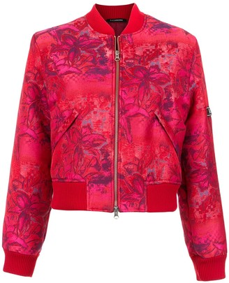 À La Garçonne brocade bomber jacket