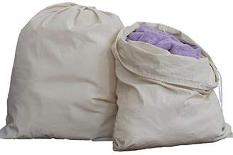 Laundry by Shelli Segal HomeLabels Cotton Bag - 2 Pack