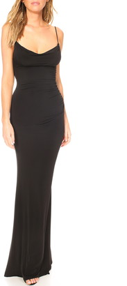 Katie May Surreal Cowl Back Evening Dress