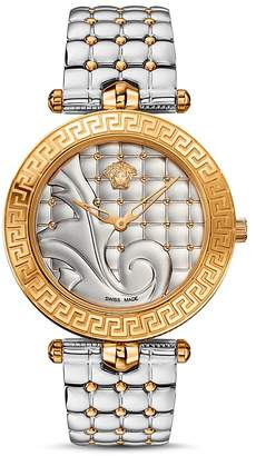 Versace Vanitas Two-Tone Watch, 40mm $1,995 thestylecure.com