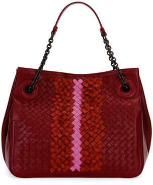 At Neiman Marcus Bottega Veneta Intrecciato Chain Handle Tote Bag