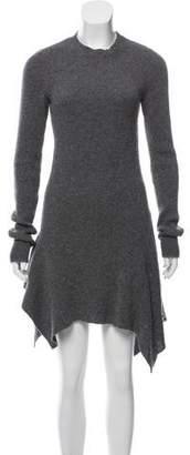 Stella McCartney Wool Long Sleeve Dress