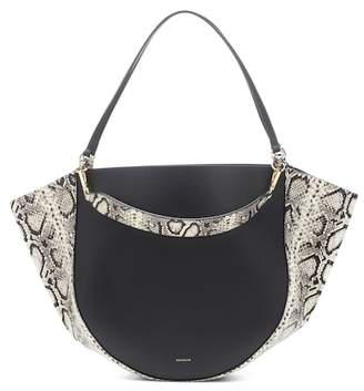 Wandler Exclusive to Mytheresa – Mia embossed leather tote