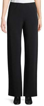 The Row Gill Cropped Crepe Pants