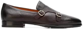 Santoni monk strap loafers