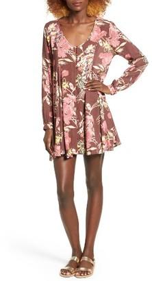 Women's O'Neill Poppit Floral Swing Dress $54 thestylecure.com