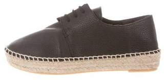 Vince Leather Lace-Up Espadrilles w/ Tags